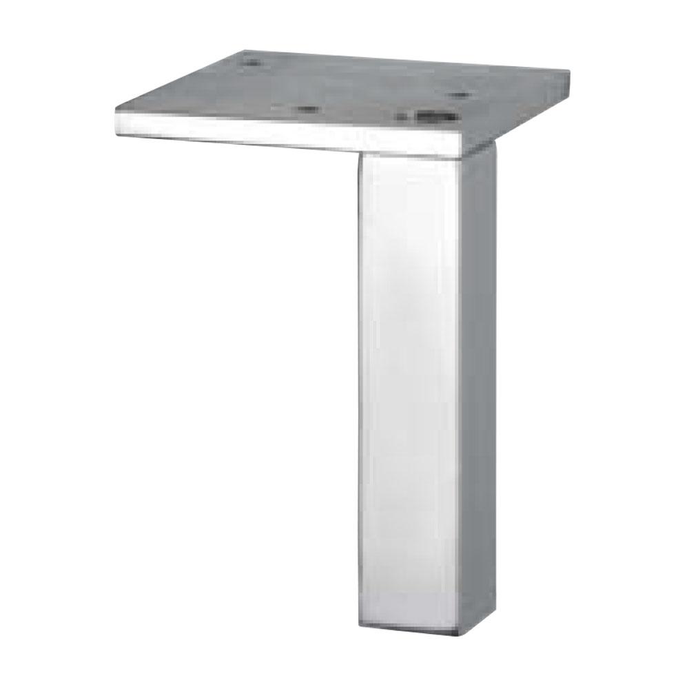 0555. Опора мебельная металл-хром.