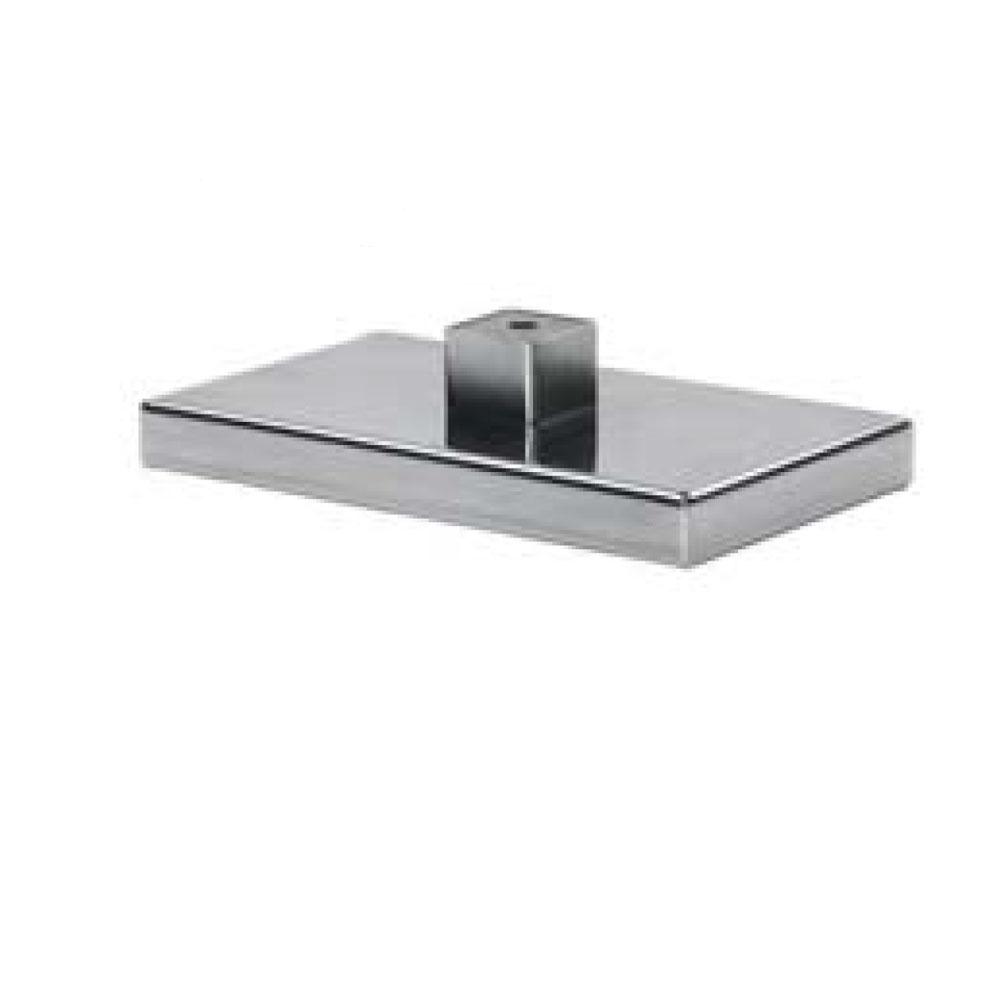 0574. Опора мебельная металл-хром.