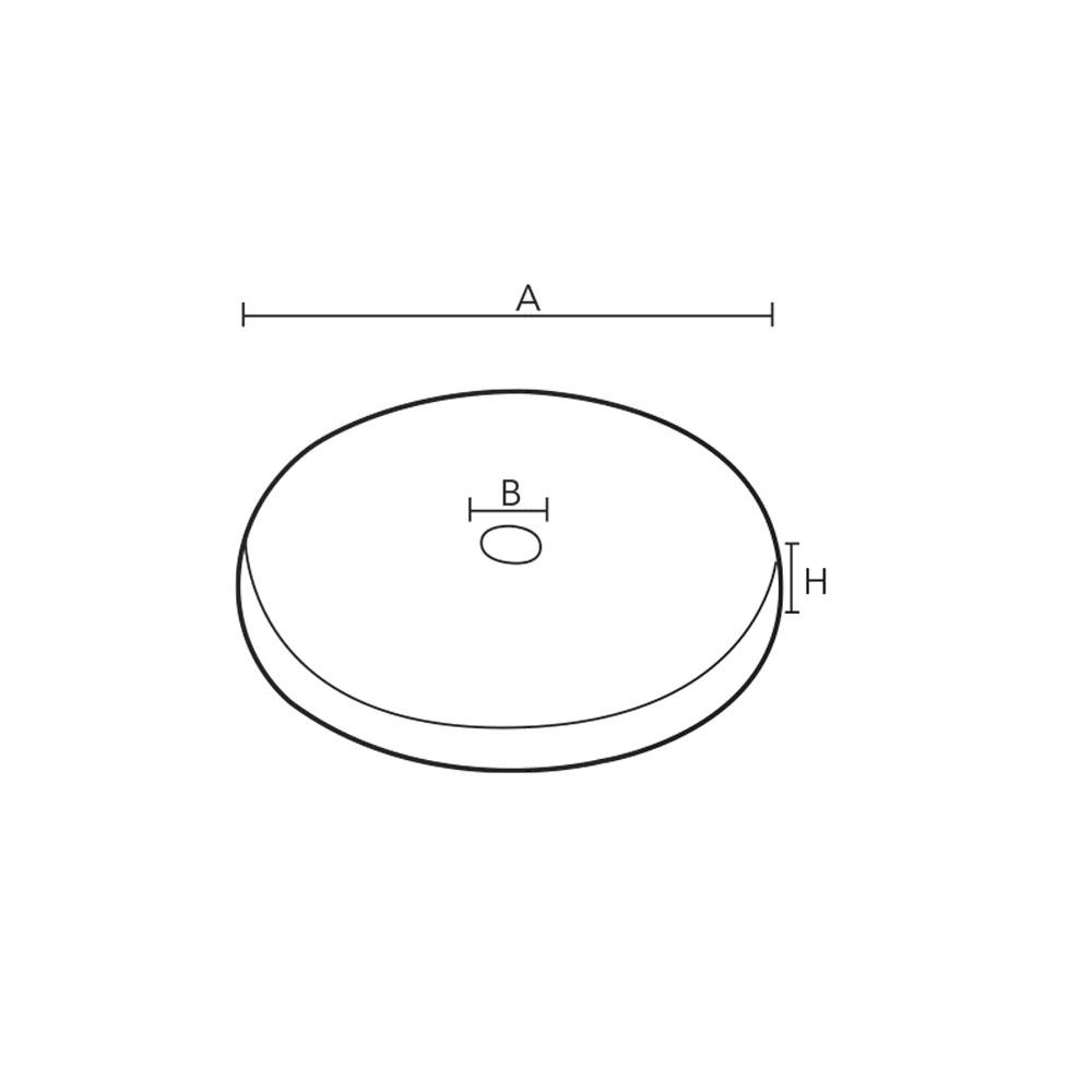 1016. Монтажная основа декоративная для мебельной опоры. id=5503