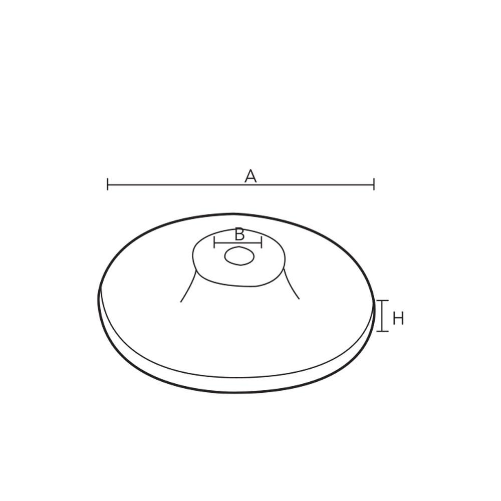 1017. Монтажная основа декоративная для мебельной опоры. id=5505