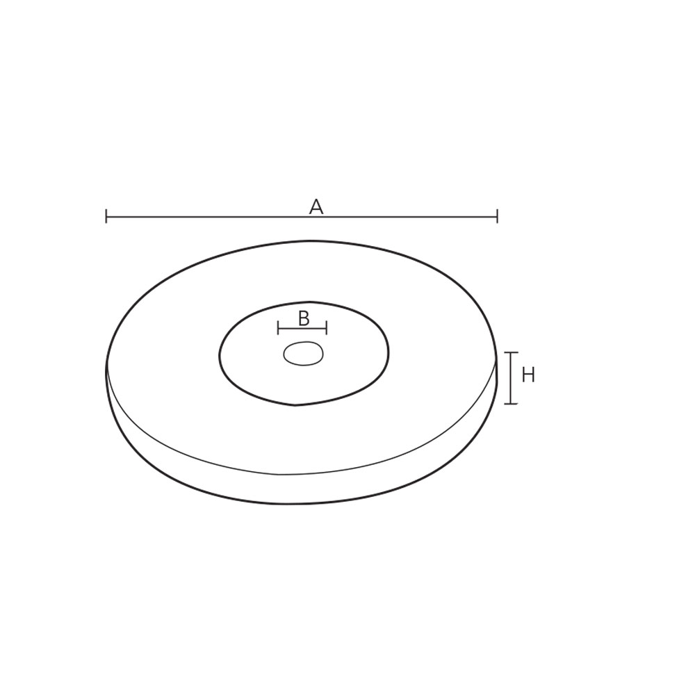 1018. Монтажная основа декоративная для мебельной опоры. id=5507
