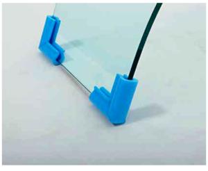 Профиль U упаковка для стекол
