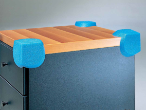 Угол 3х сторонний для защиты углов мебели.