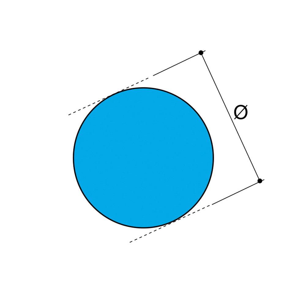 Профиль цилиндр D-70мм. ВПЭ id=6768