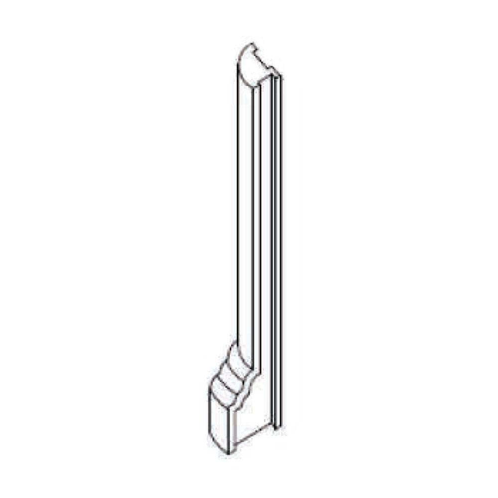 Угловой стыковочный элемент цоколя 122, внешний 90 гр. id=7979