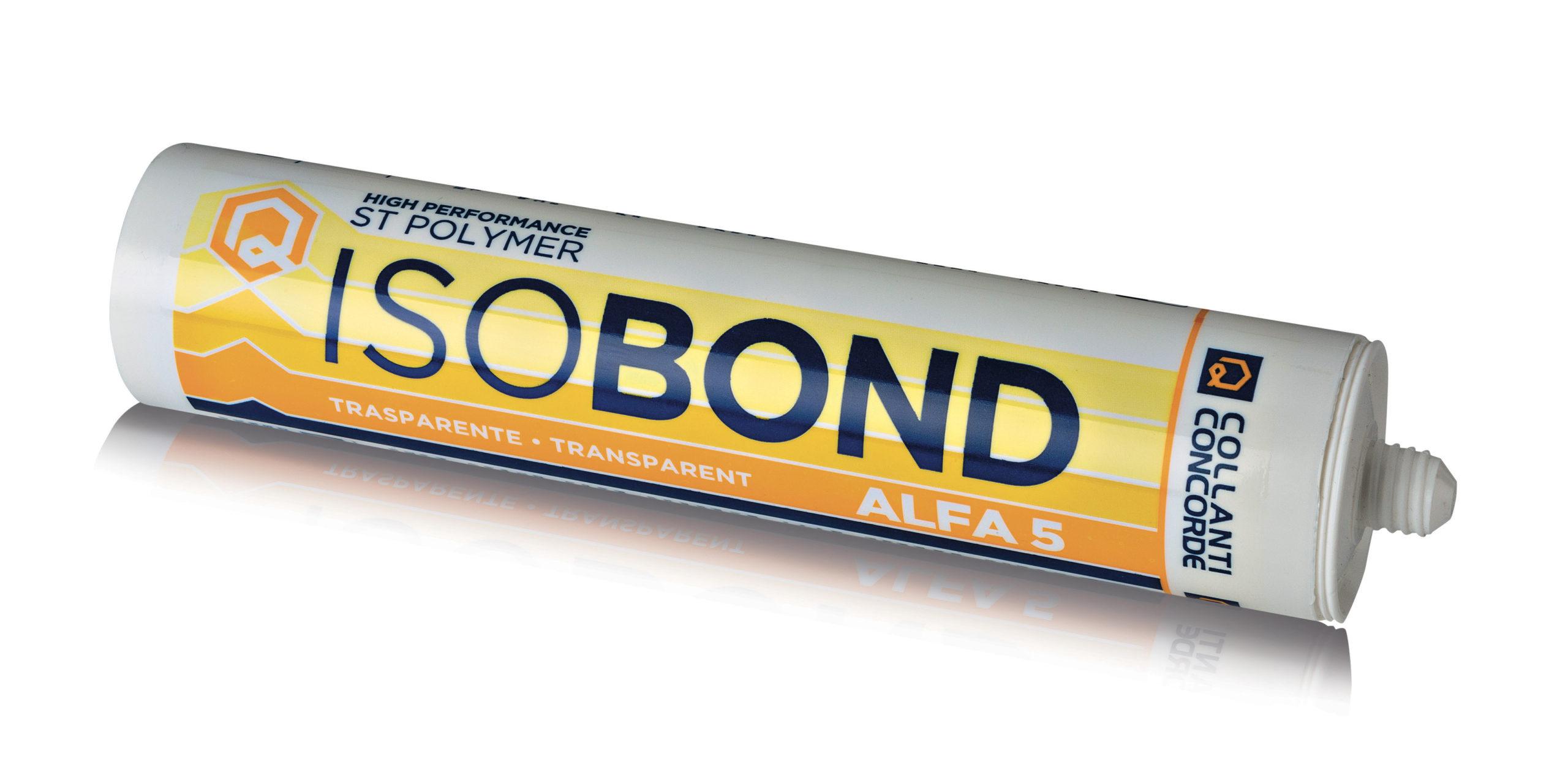 Полиуретановый клей. Полимеры ST ISOBOND ALFA 5 Trasparente