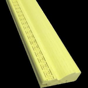 5. Фасадный профиль с геч. накаткой 60х24х3660. МДФ в шпоне ясеня. 1.