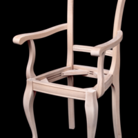Каркас кресла 6418_СМ 09.
