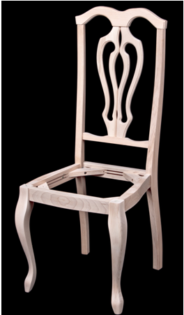 6398. Каркас стула из массива бука. id=15842