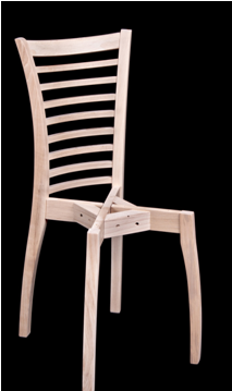 6403. Каркас стула из массива бука. id=15885